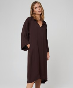 Julienne Dress Espresso