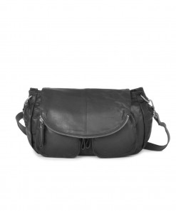 Lola Leather Bag Black