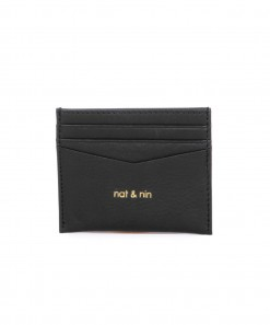 Many Leather Wallet Black