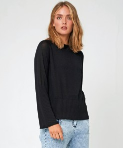 Rory Wool Pullover Black
