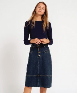 Rigby Denim Skirt Indigo