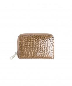 Zipper Wallet Brown